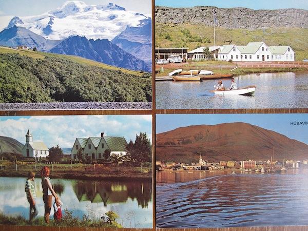 vintage Icelandic postcards by mariavalles
