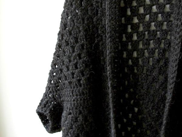 f9c6667f7 Granny cocoon shrug — Rove Handmade