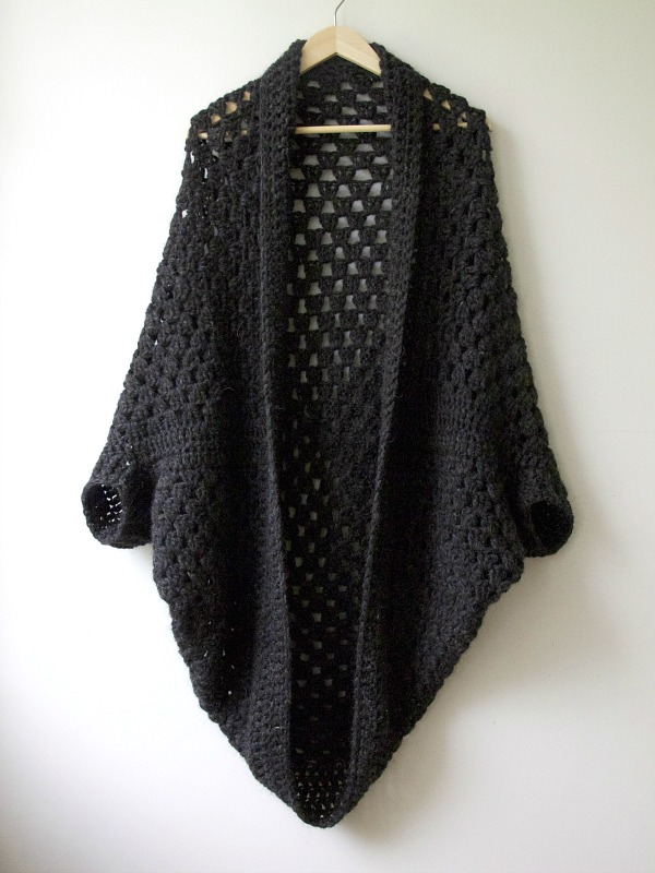 Granny cocoon shrug part 2 - going viral ? maria valles
