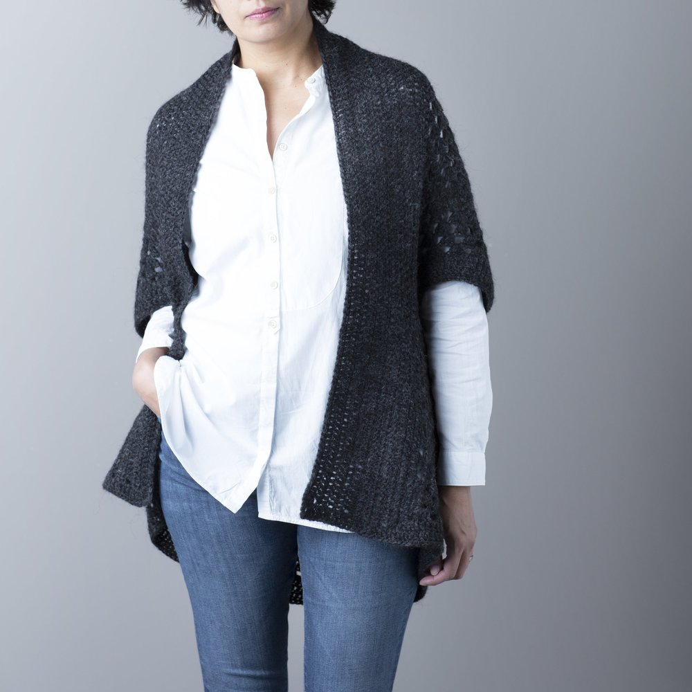 Duo Two-Way Shrug by Rove Handmade