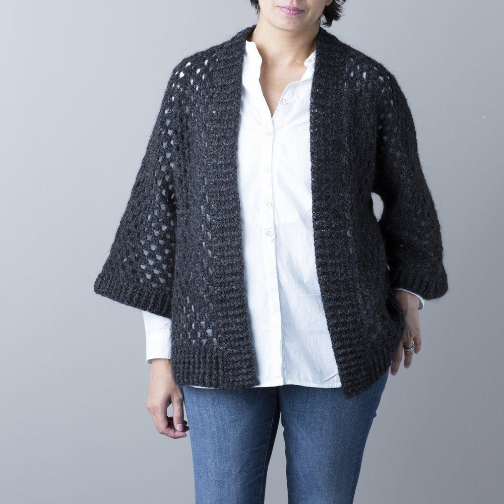 Hexa Kimono Cardigan by Rove Handmade