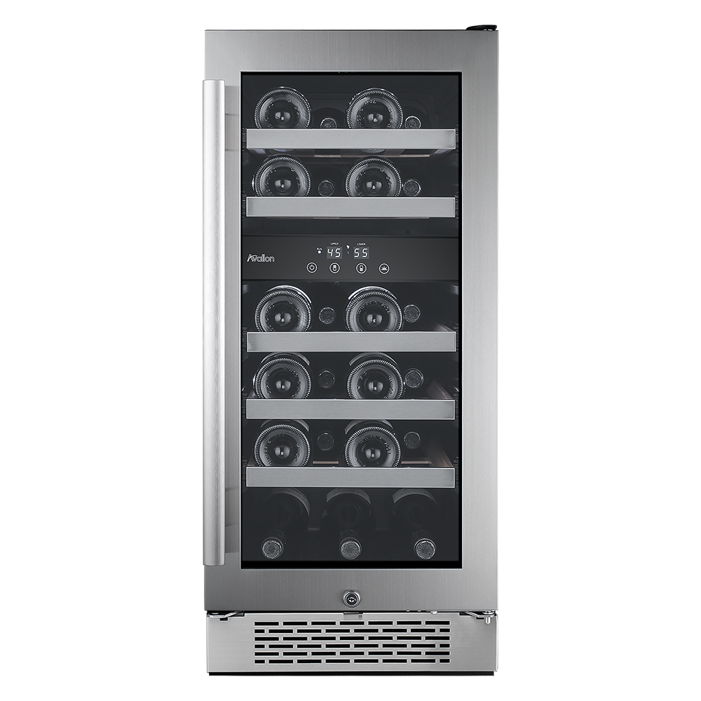 AWC151DZ Avallon 23 Bottle Built-In Dual Zone Wine Cooler