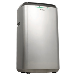 APAC120HS - Avallon Dual Hose Portable Air Conditioner and Heater - Silver - Up to 425 Sq. Ft. of Cooling