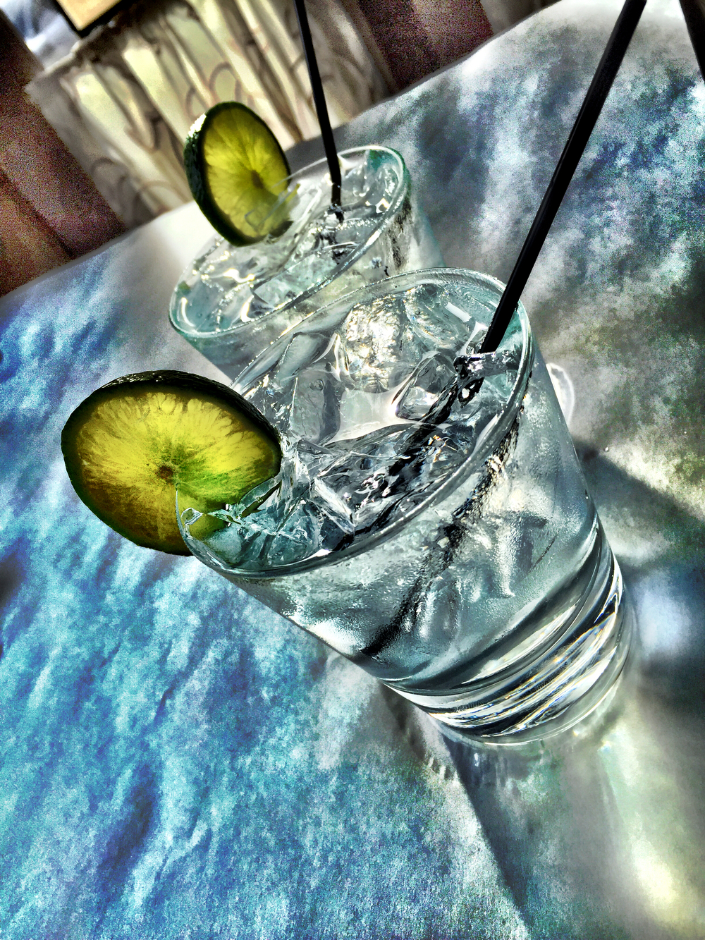 Boodles & Tonic with lime