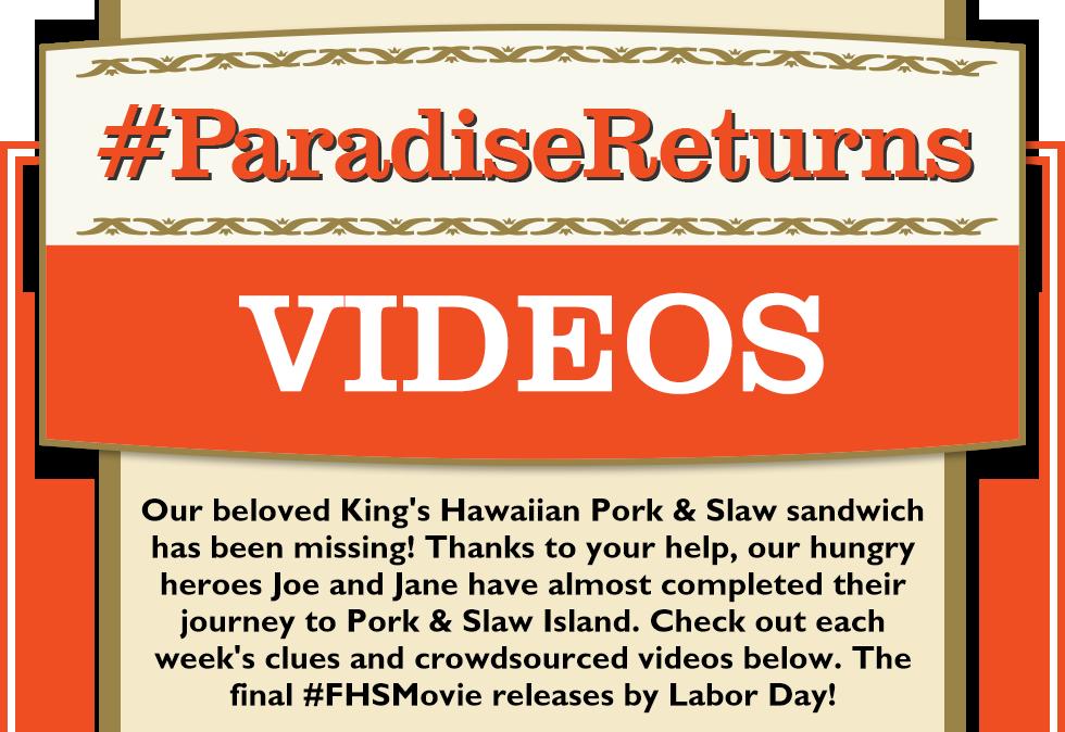 #ParadiseReturns