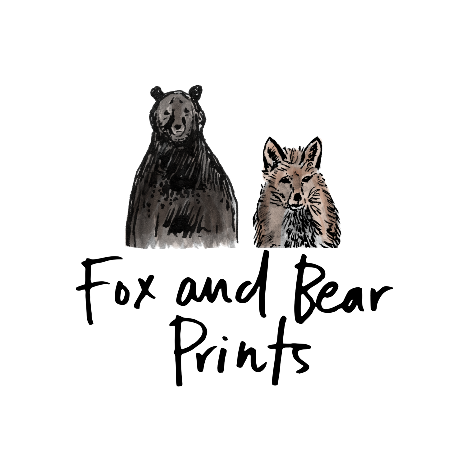 FOX AND BEAR PRINTS
