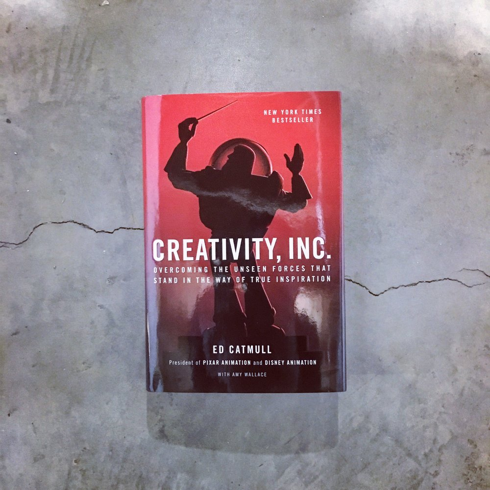 Creativity, Inc. by Ed Catmull - From Aaron Mentele, CEO of Electric Pulp