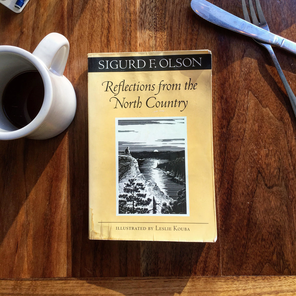 Reflections from the North Country by Sigurd F. Olson - From Joe Bartmann, President of Dakota ResourcesJoe found this book at a vacation rental in northern Minnesota. He liked it so much he stole it and sent a new copy back to the owner.