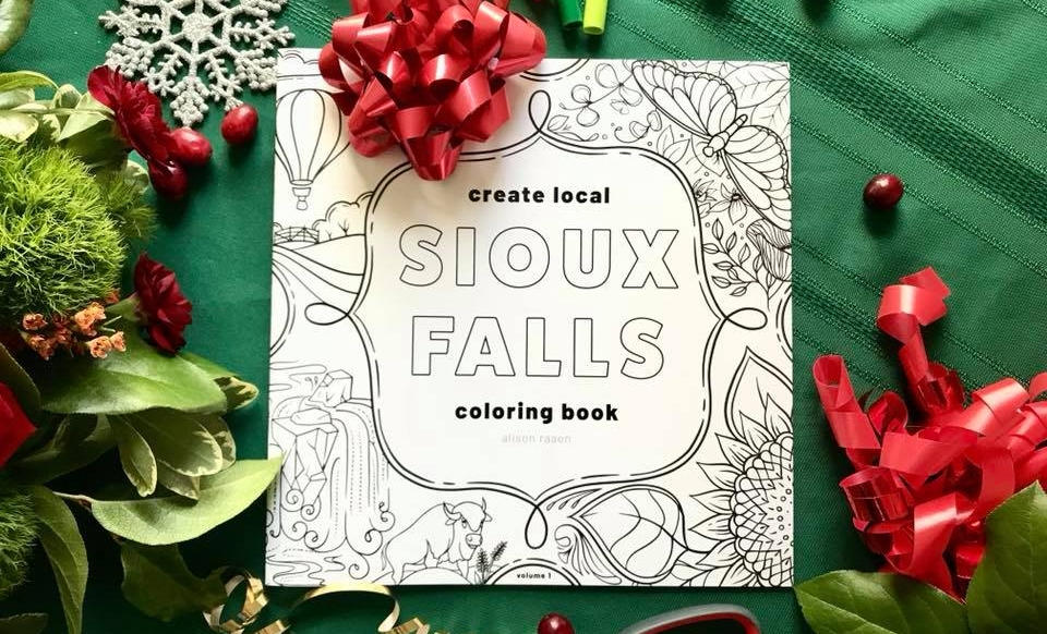 Sioux Falls Coloring Book