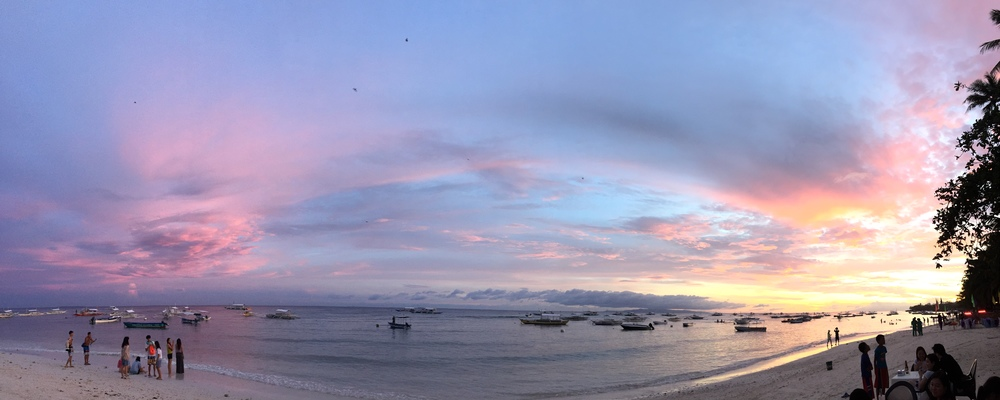 panglao sunset