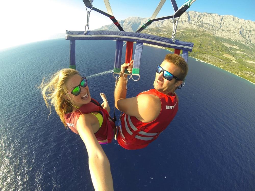 Parasailing Croatia: So-worth the sacrifices!