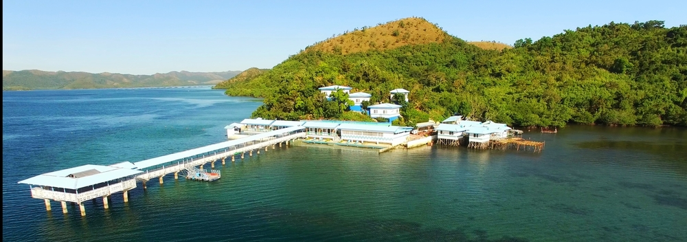 Daydreaming and pinterest helped to inspire.  Pictured: Underwater Garden Resort: Coron, Philippines.  We paid $40 USD/night.... same as that online order you just purchased?