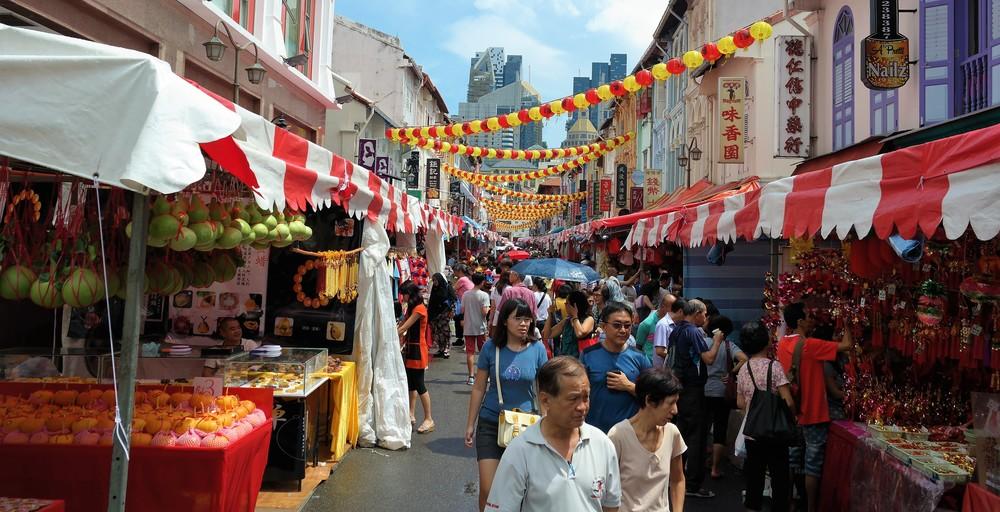 chinatown shopping singapore