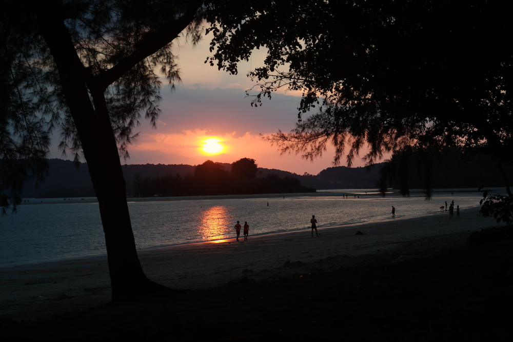 Noppart Thara Beach Sunset