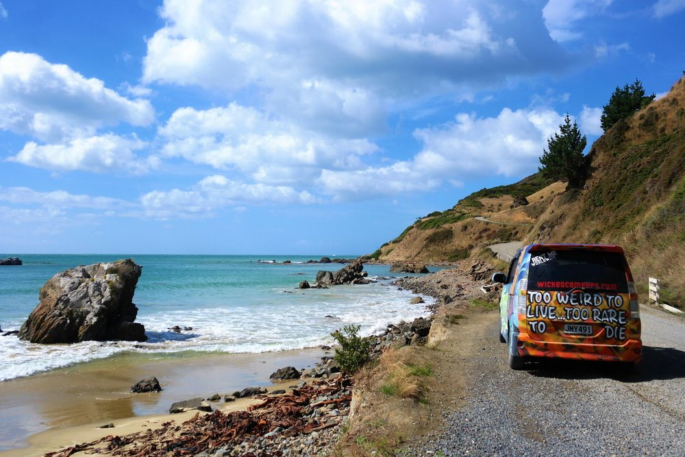 The best way to explore is to explore. New Zealand is best seen while sleeping out of a van!