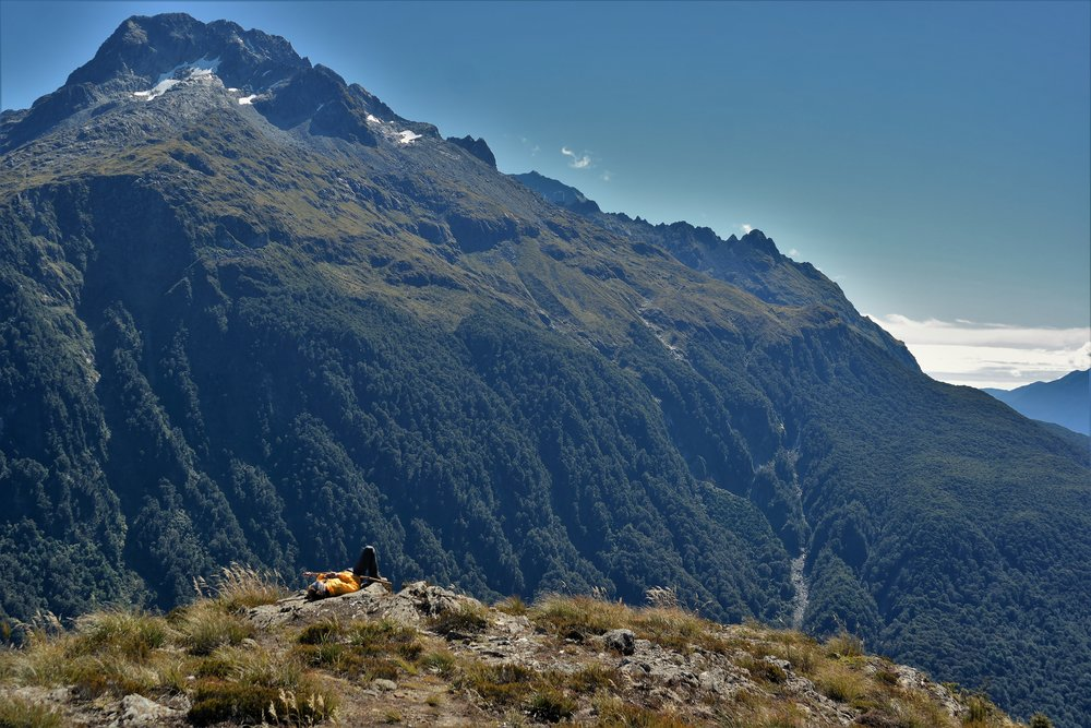 Key Summit is one of the best day hikes in Fiordland. In a land of quickly changing weather wait, if you can, for nice weather. You'll be rewarded with vast views and some relaxing sunbathing at the top.