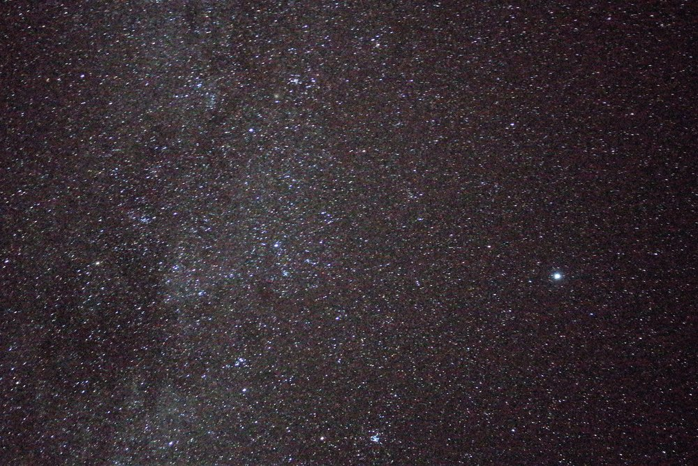 The Dark Sky Reserve in New Zealand has some of the best visibility on the planet (over land) to gaze at the stars. We're not even great photographers and we still captured all these!!!