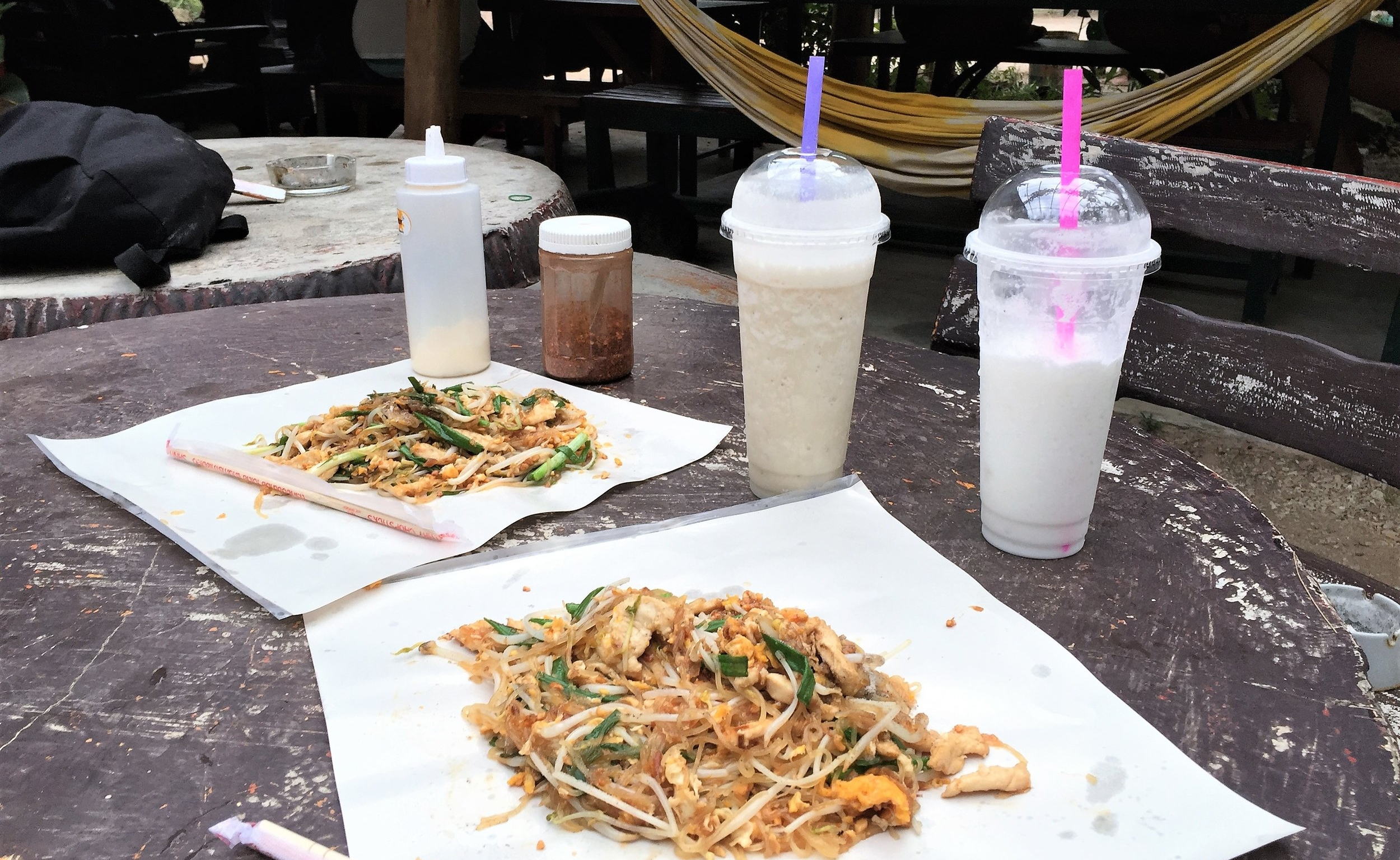 Pad Thai is better in paper than on a plate anyways.