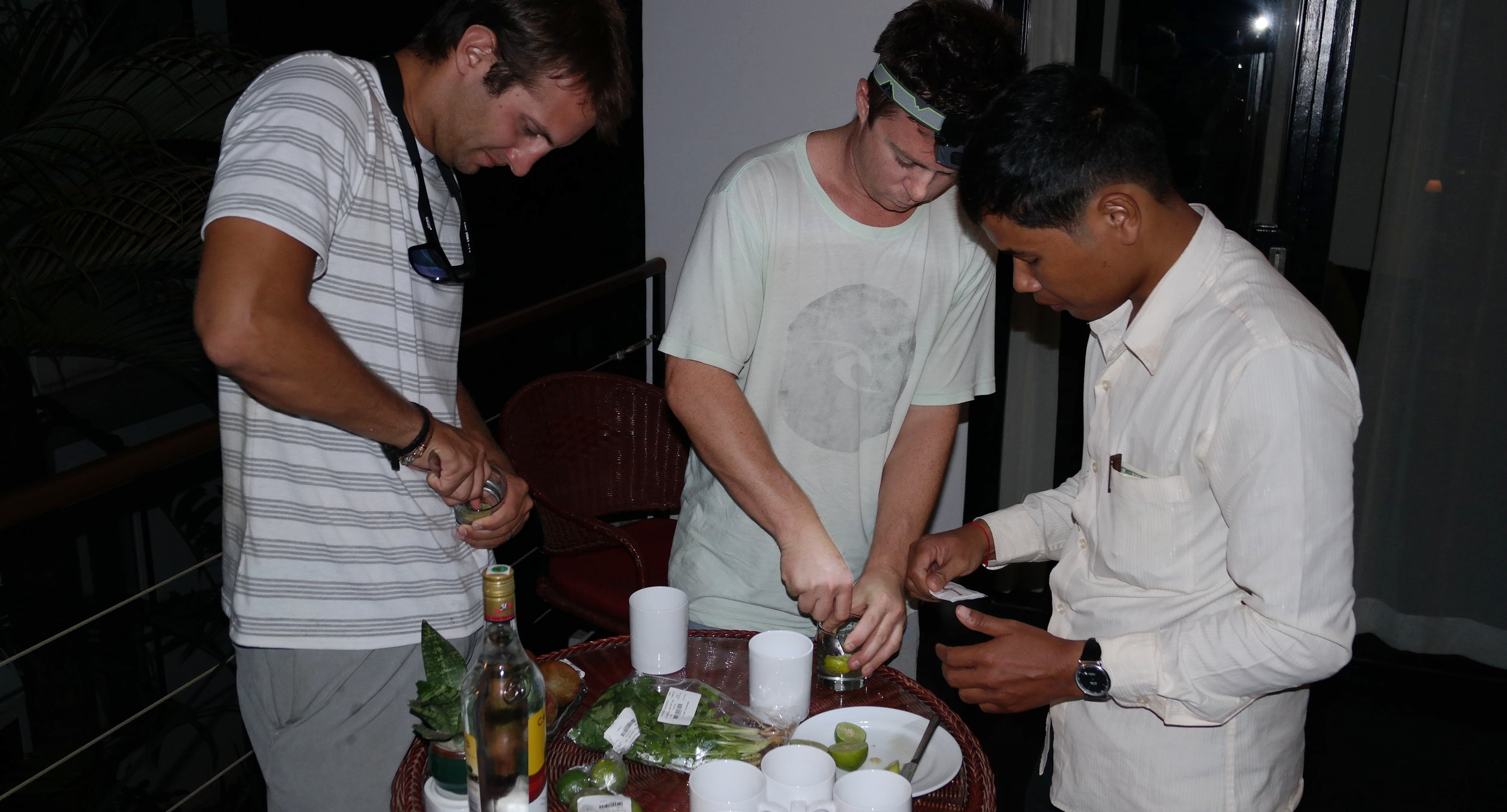 You'll have more fun with a local anyways.  After chatting with our Tuk Tuk driver on the way back from Angkor Wat we invited him to the hotel where he taught us how to make local cocktails.  The next morning he gave us the best