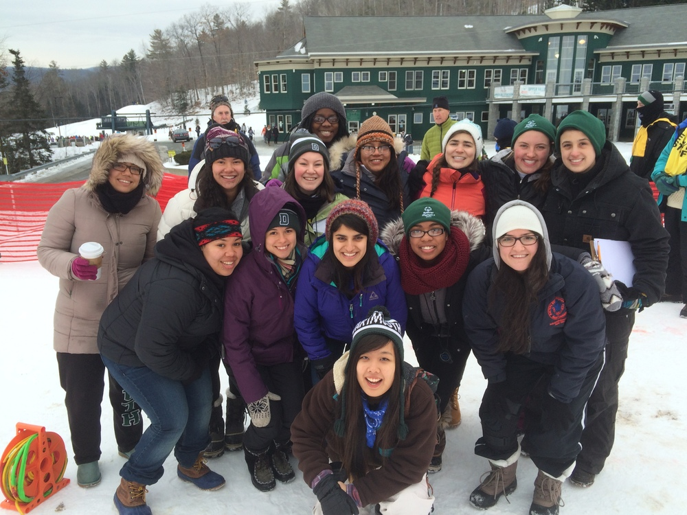 DWRC Volunteers During Winter Off-Season