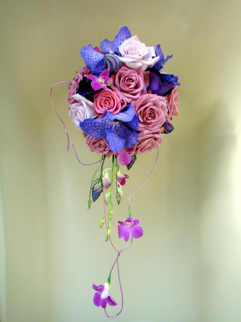 Unique bride's wedding bouquet. Barnsley Huddersfield Sheffield Wakefield Bagden Hall