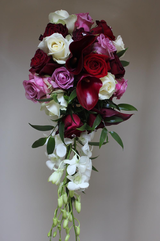 Bride's Wedding Shower Bouquet. Barnsley Huddersfield Sheffield Wakefield Bagden Hall