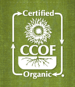 Certified Organic since 2000.