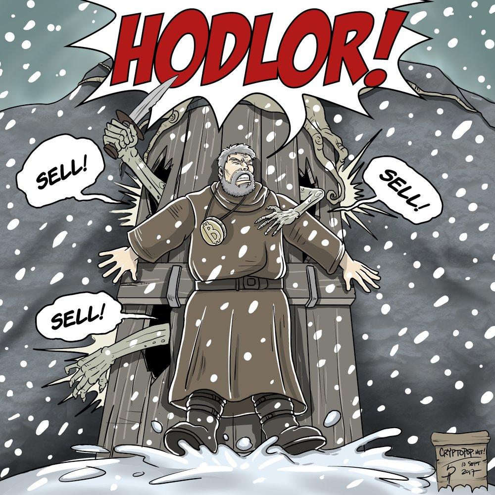 HODLOR engages in a totally plausible act of self-sacrifice for the good of humanity.