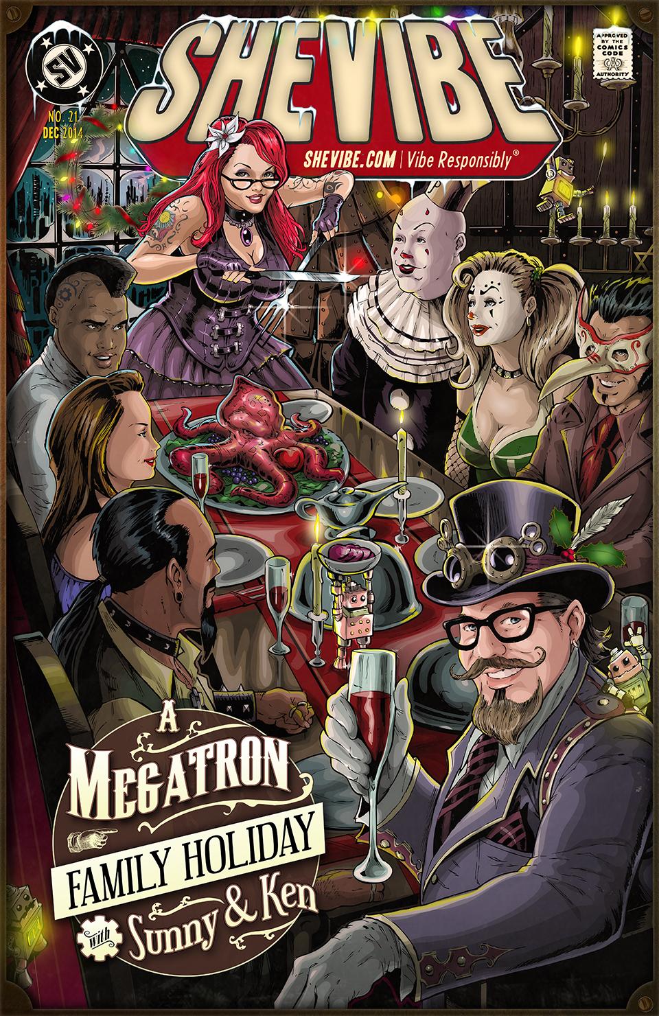 Sunny Megatron Cover