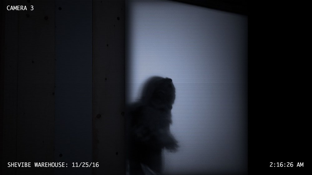 Security cam caught this - looks like a little creature/man. Not really sure what to do.