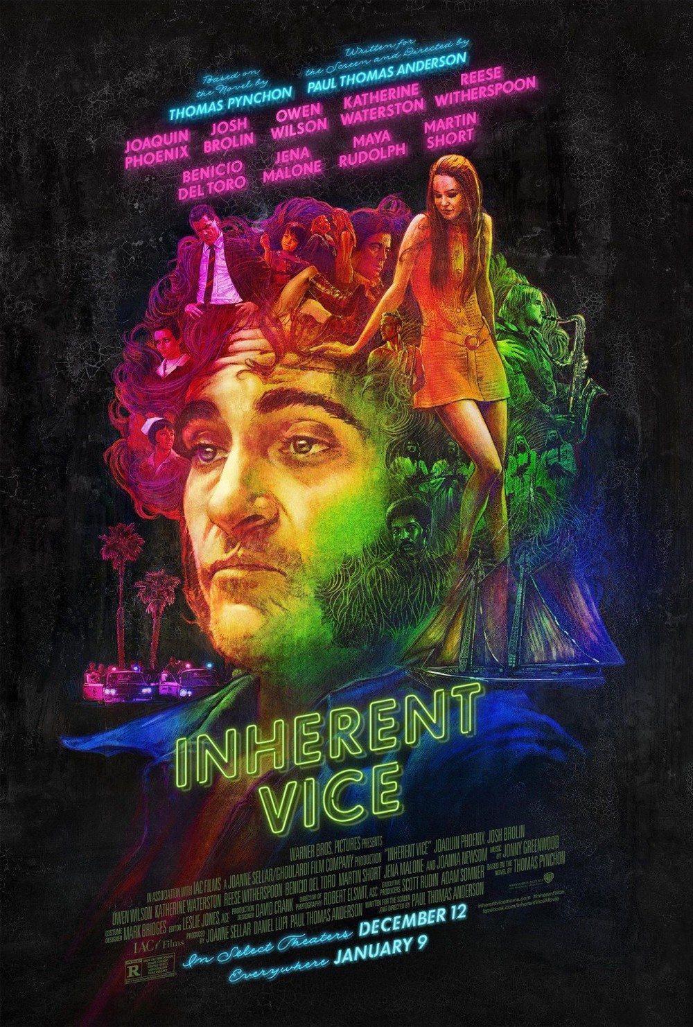 Inherent Vice definitely has some of the coolest posters I've ever seen.