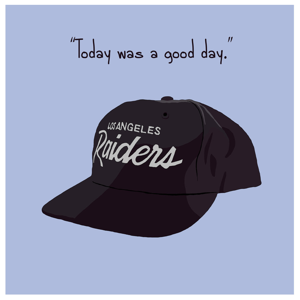 ICE CUBE'S RAIDERS HAT