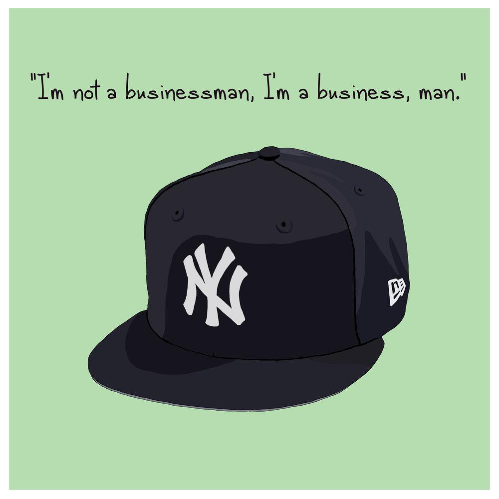 JAY-Z'S YANKEES HAT