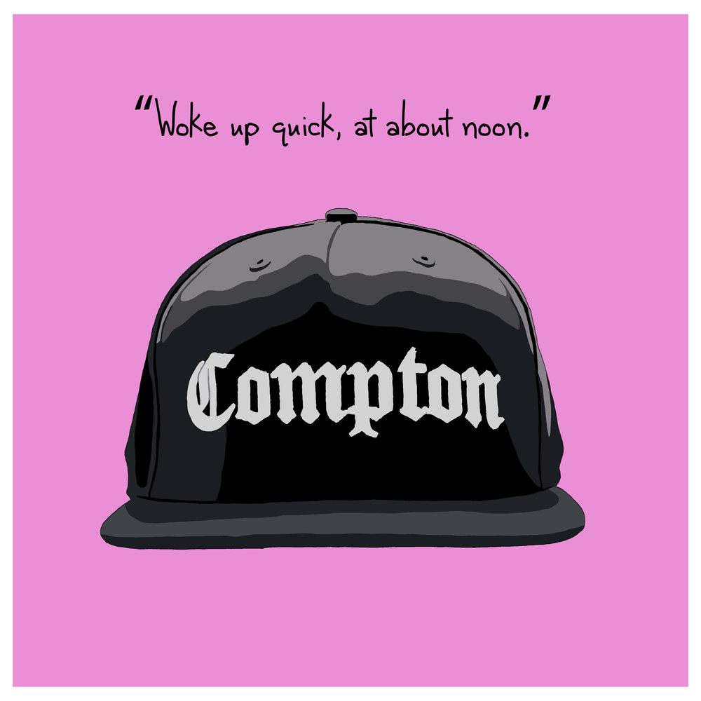 EAZY E COMPTON HAT