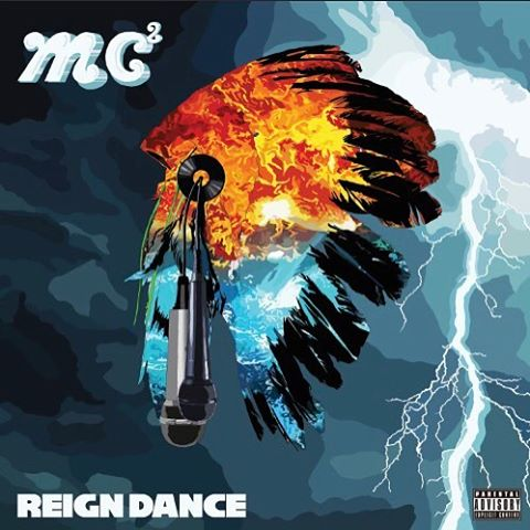Alternate art I had designed for @the.real.mc2 - Reign Dance is available now on iTunes & wherever else you stream music!