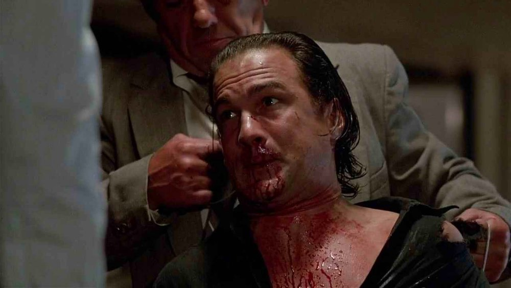 Don't get used to seeing Seagal bloodied. This isn't one of those 'vulnerable good guy' actors.