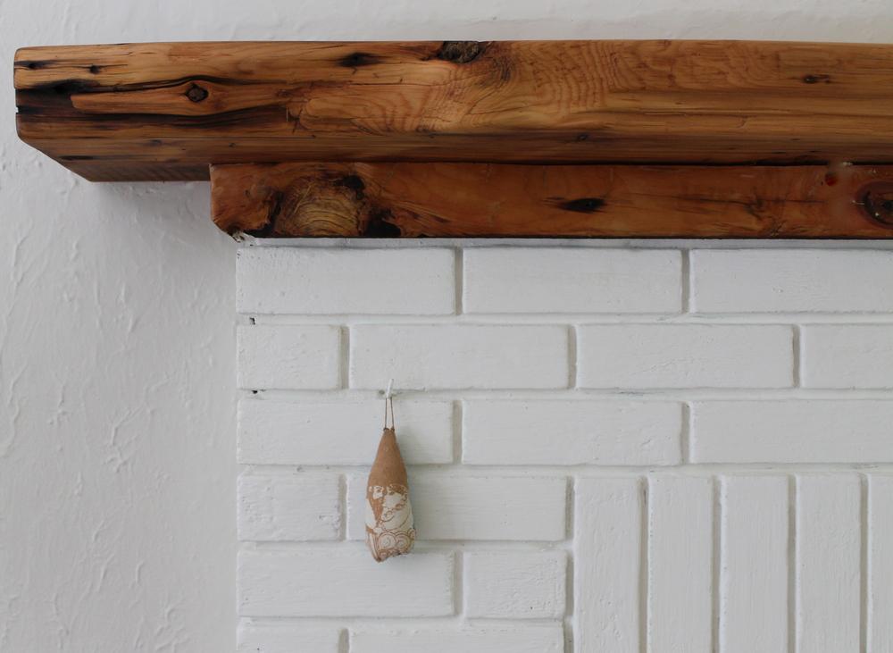 Manteau de foyer nature art du chanvre - Enduit pour bois avant peinture ...