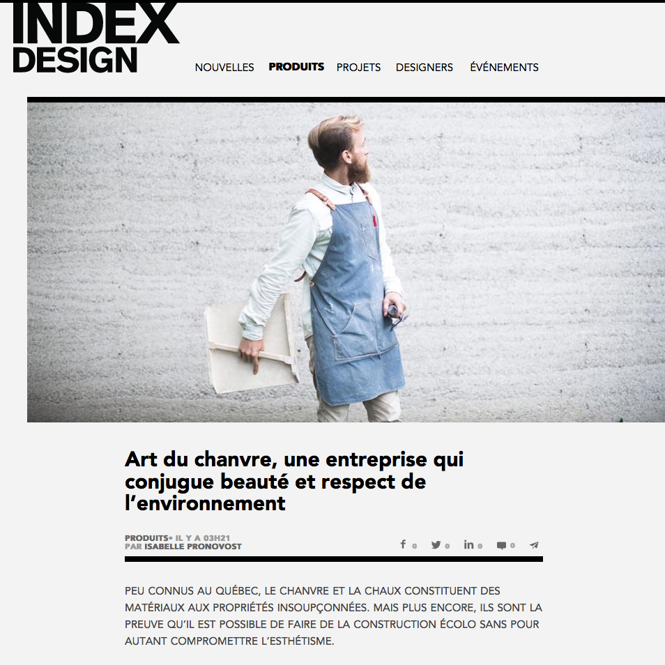 INDEX DESIGN, Mars 2017