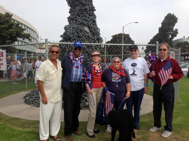 Former Santa Monica Mayors in Support of Chain Reaction - July 4th