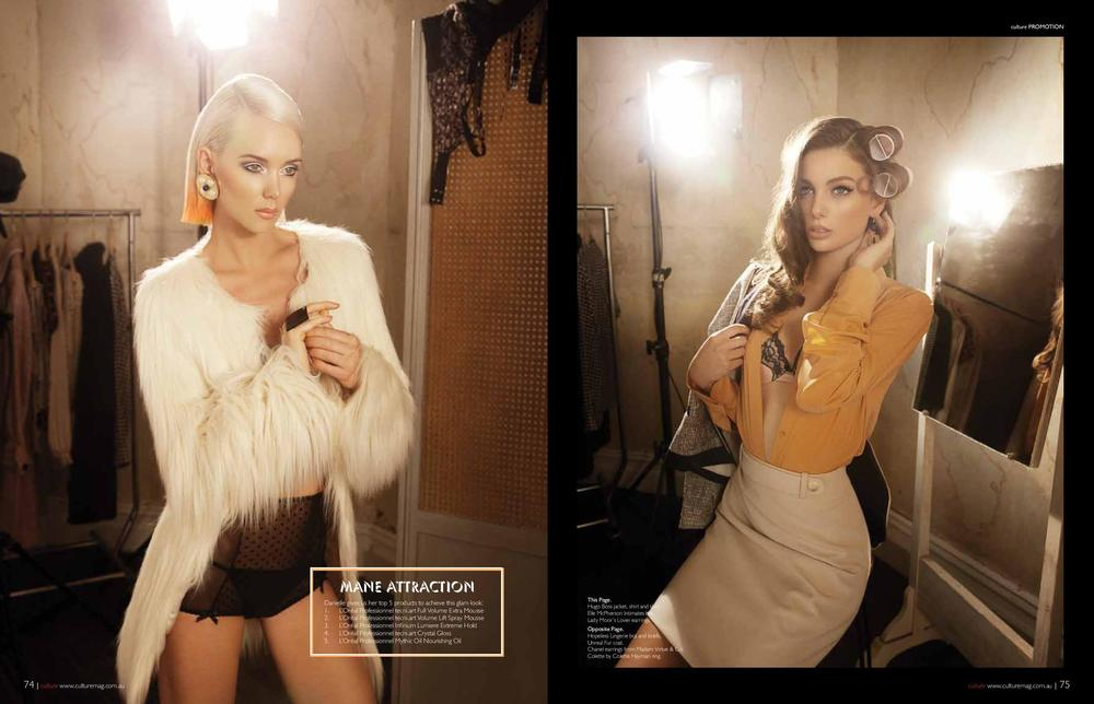 Loreal Advertorial for Culture Magazine