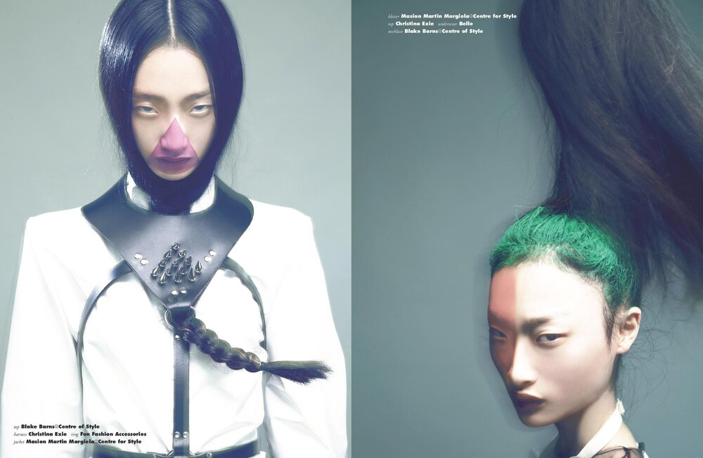 Vision Magazine Beauty Feature