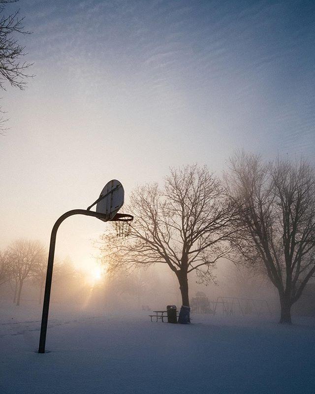 Frosty hoop