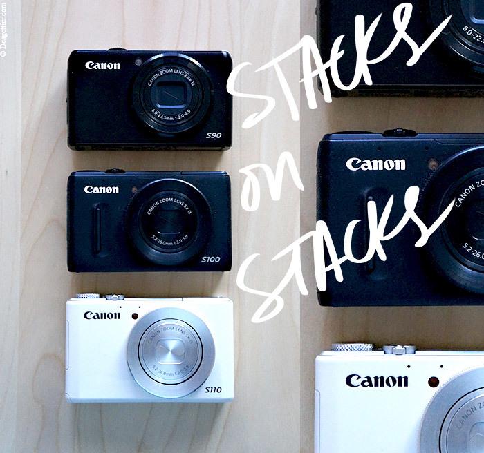 Canon Powershot S90, S100 & S110