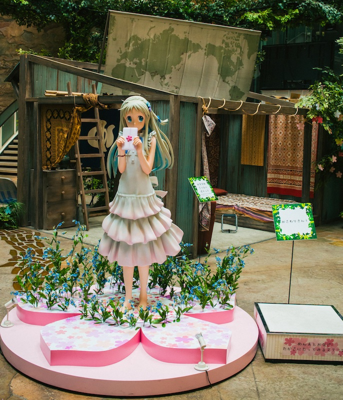 anohana exhibit cafe odaiba 2.jpg