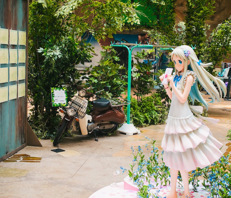 anohana exhibit cafe odaiba 10.jpg