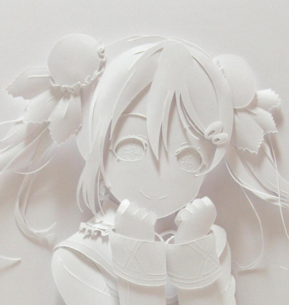 Nico Love Live papercraft