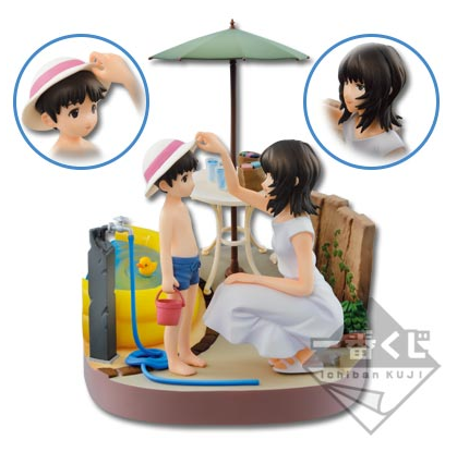 Shinji and Yui figure