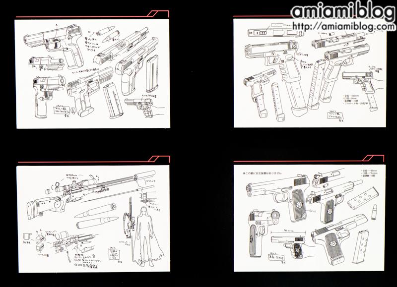 Gun Gale Online weapon design