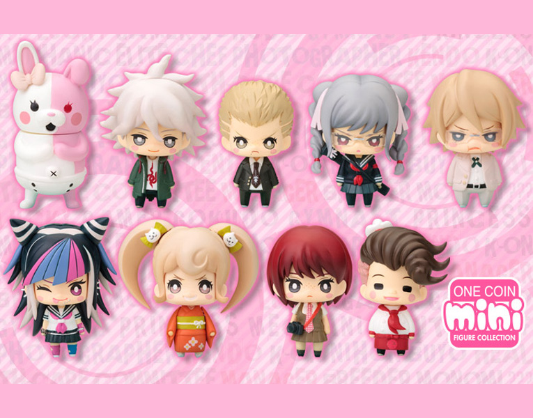 One Coin Mini Figure Collection Super Dangan Ronpa 2 CHAPTER 02