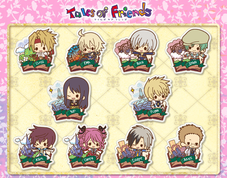 Tales of Friends - Clear Brooch Collection vol.1